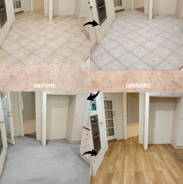 Tile & Carpet Transformation