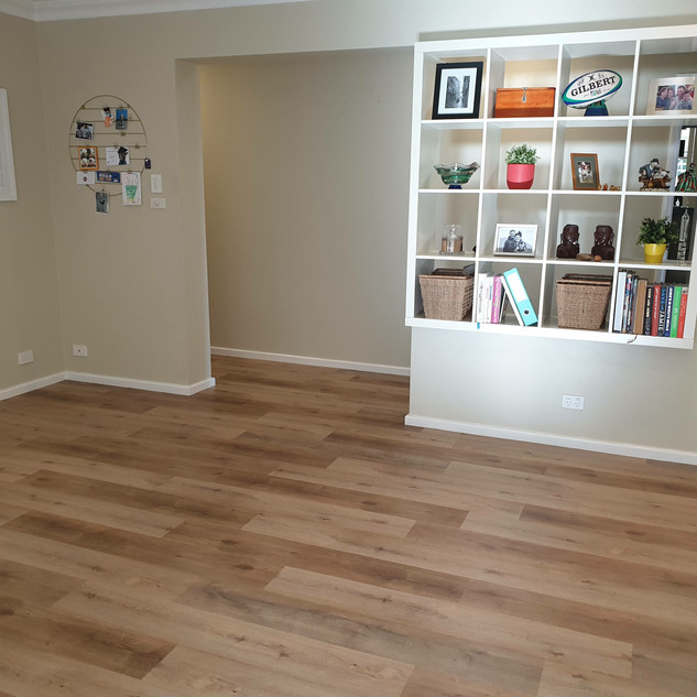 Over top of cork & other flooring