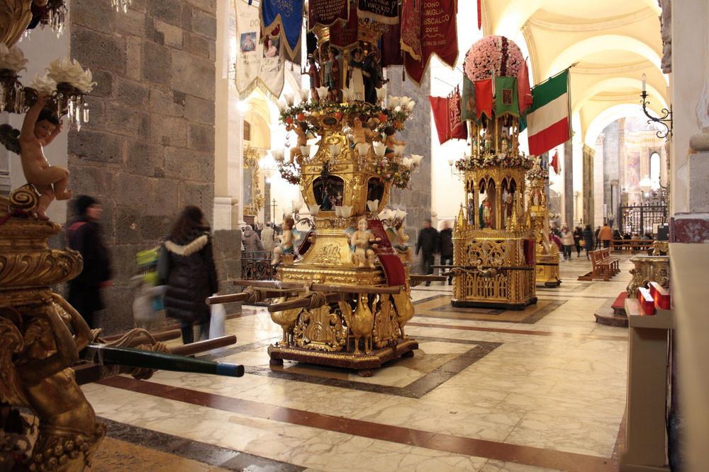 Le Candelore di Sant'Agata