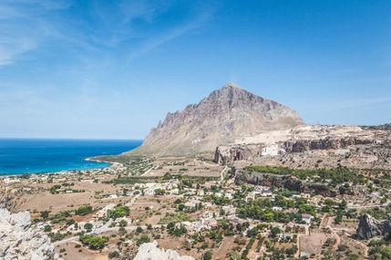 Vista su Monte Cofano, Sicilia Occidentale 7 giorni