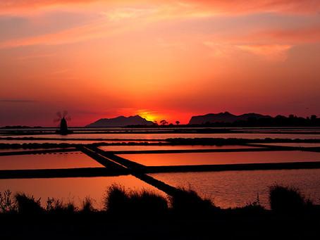 Riserva dello Stagnone, luogo spettacolare dove vedere il tramonto a Marsala