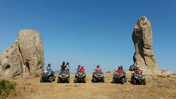 Tour in Quad all'Argimusco, Escursioni sui Nebrodi