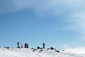 Gita sull'Etna in inverno