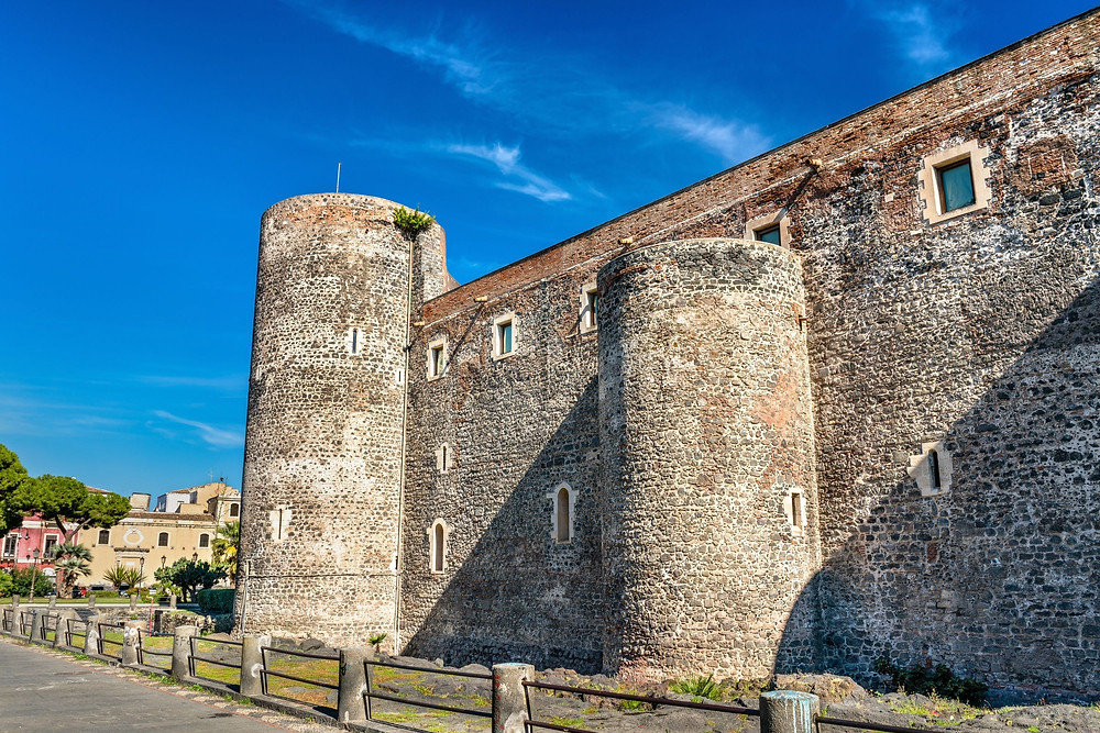 Castello Ursino Catania, visitare catania a piedi