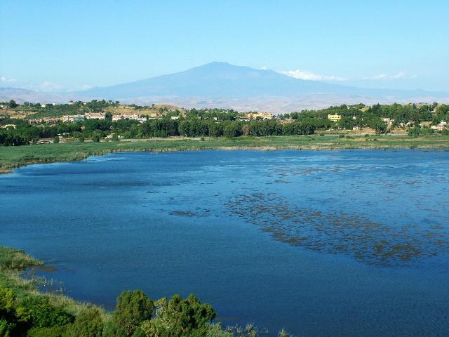 Lago Pergusa ad Enna