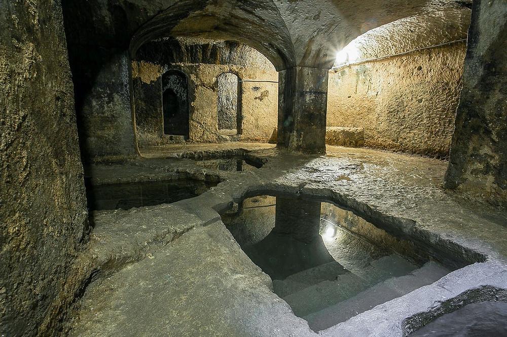Bagni Ebraici Ortigia a Siracusa