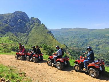 Tour in Quad, Escursioni sui Nebrodi