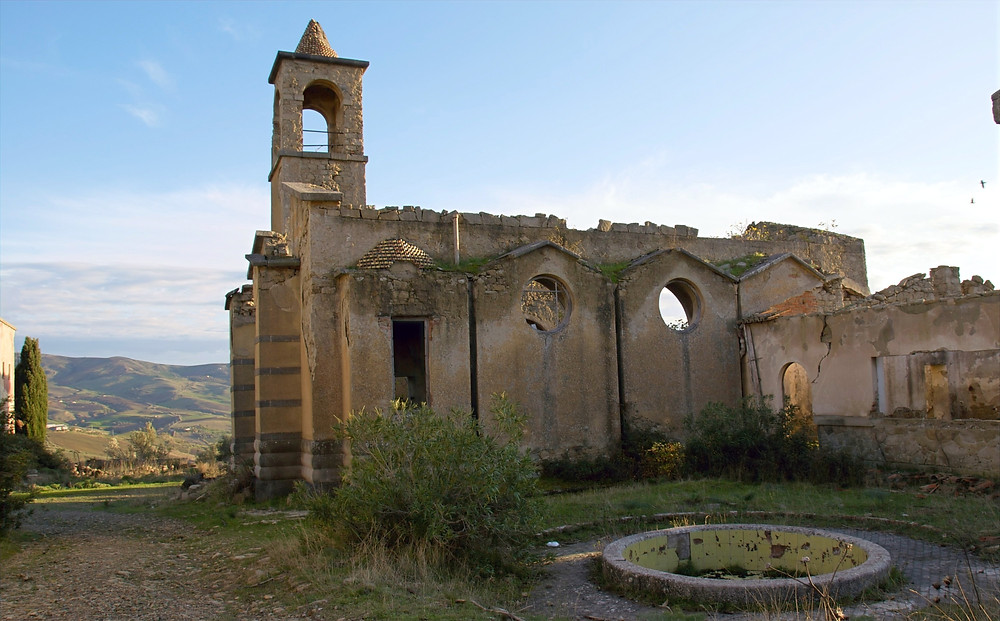 Borgo Giuliano, borgo fantasma Sicilia