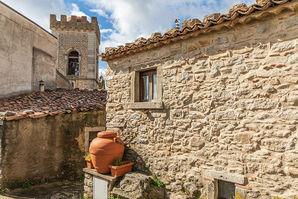 Il centro storico di Montalbano Elicona