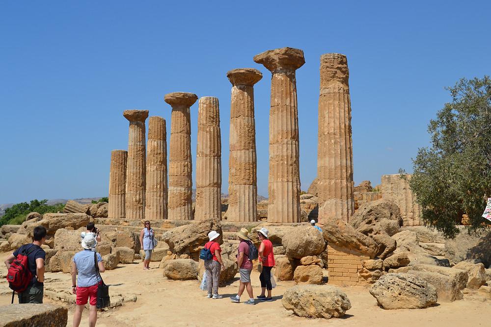 Tempio di Ercole, Visitare la Valle dei Templi