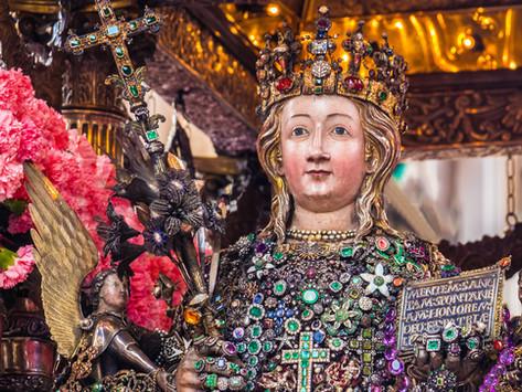 La festa di Sant'Agata, santa patrona di Catania, ieri e oggi