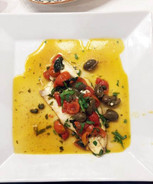 Pesce al forno alla siciliana