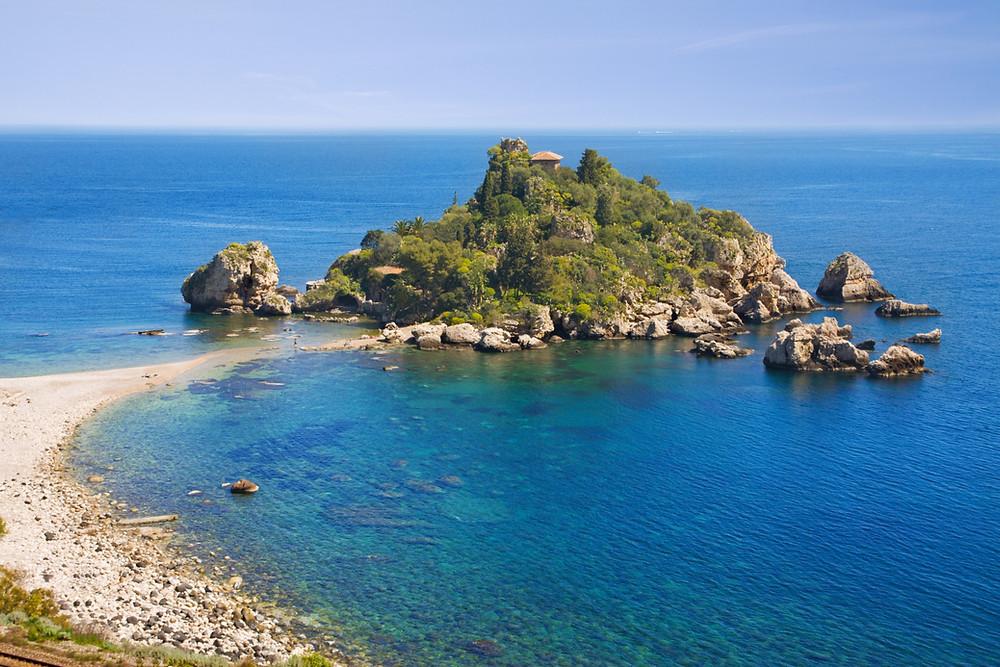 Spiaggia di Isola Bella a Taormina, un giorno a Taormina