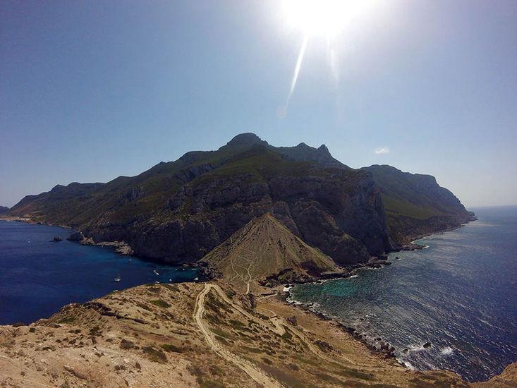 Vista dal Castello di Punta Troia, Tour Isole Egadi