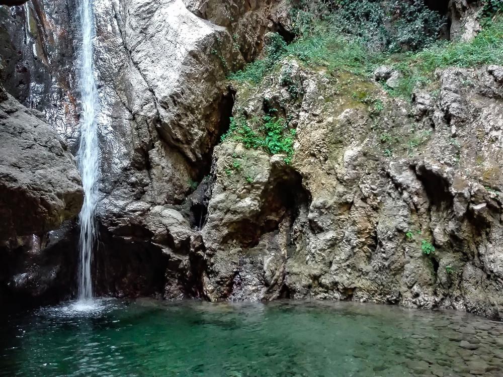 Cascata del Catafurco come arrivare