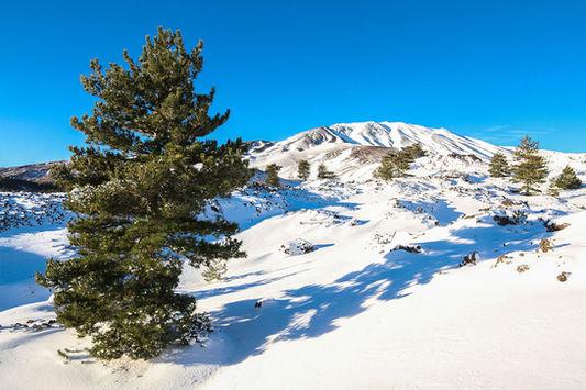 L'Etna in inverno, Weekend Sicilia