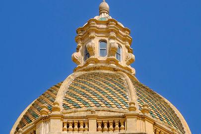 La cupola della Chiesa Madre, Vacanze Marsala