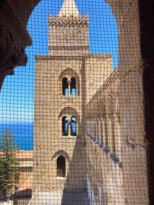 Vista sulle Torri della Cattedrale, Ferragosto a Cefalù