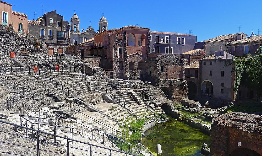 Teatro Greco-Romano Catania, Cosa vedere a Catania