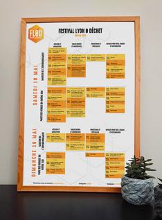 Programmation Festival Lyon 0 Déchet (FL0D) 2019