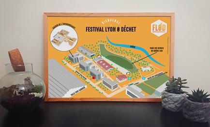 Plan - Festival Lyon 0 Déchet Édition 2019
