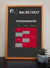 Programme Bal de l'UCLy - 3ème Édition