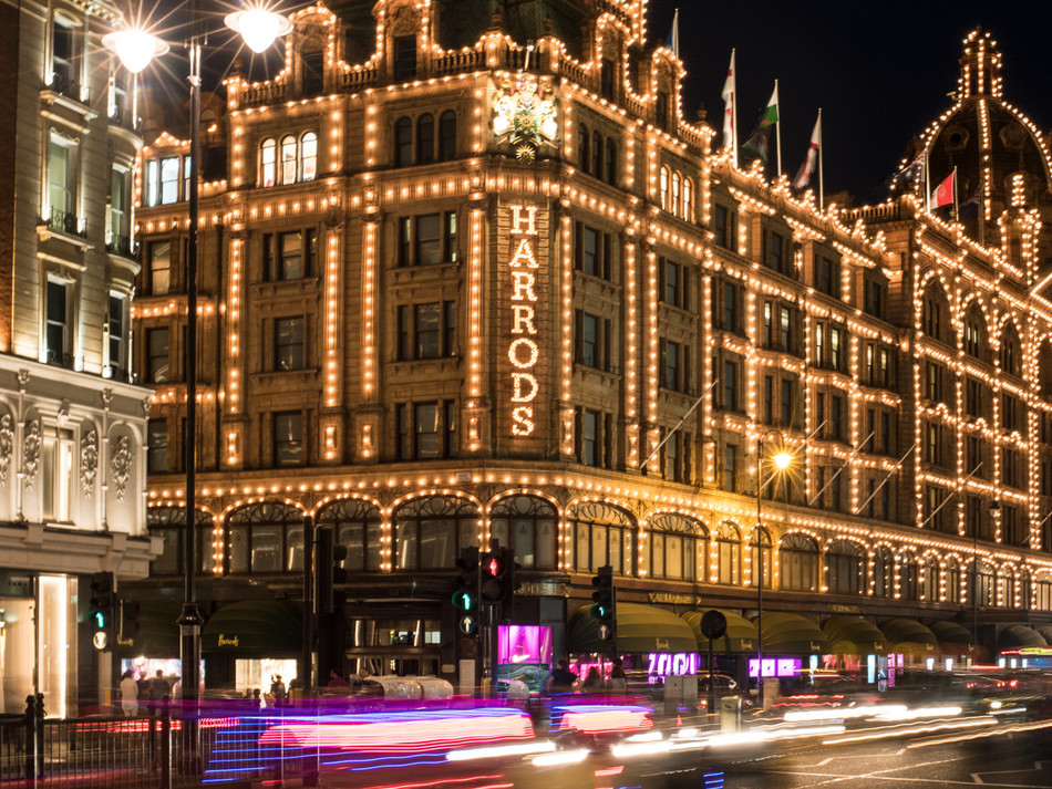 ZOOM AT HARRODS