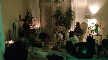 living room concert