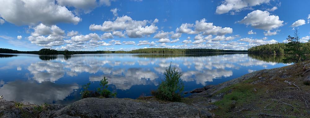 Nävsjön, Sörmlandsleden.
