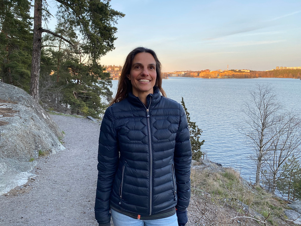 Carmen Hamdi, grundare av Nordic Trails.