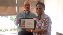 LETTER OF APPRECIATION from Pertamina International EP