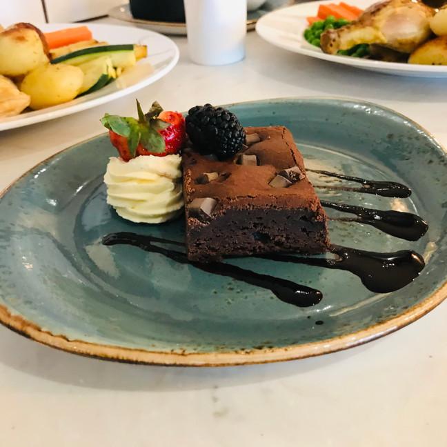 Chocolate Brownie Clifton Hotel Folkesto