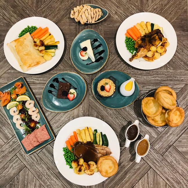 Sunday Roast at Clifton hotel folkestone