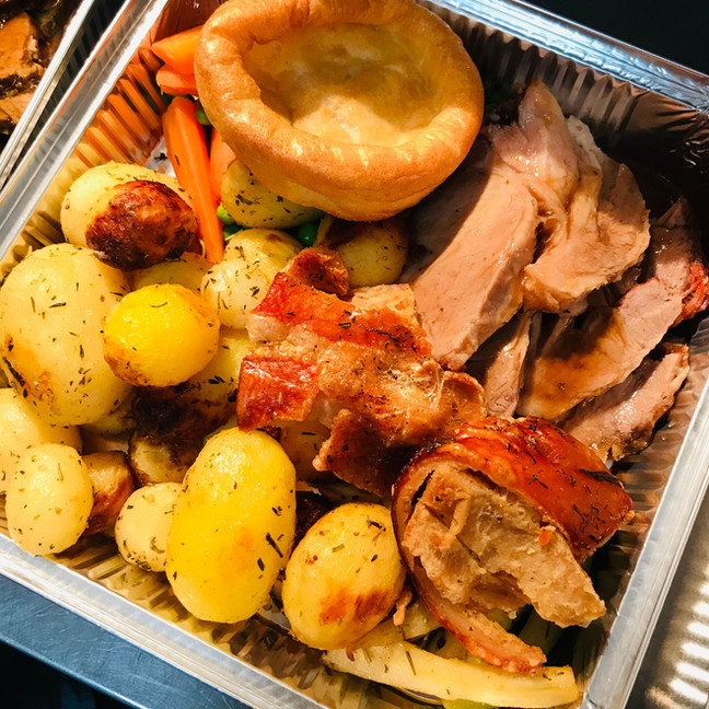 Sunday Roast near CT20 2EB, Roast pork w