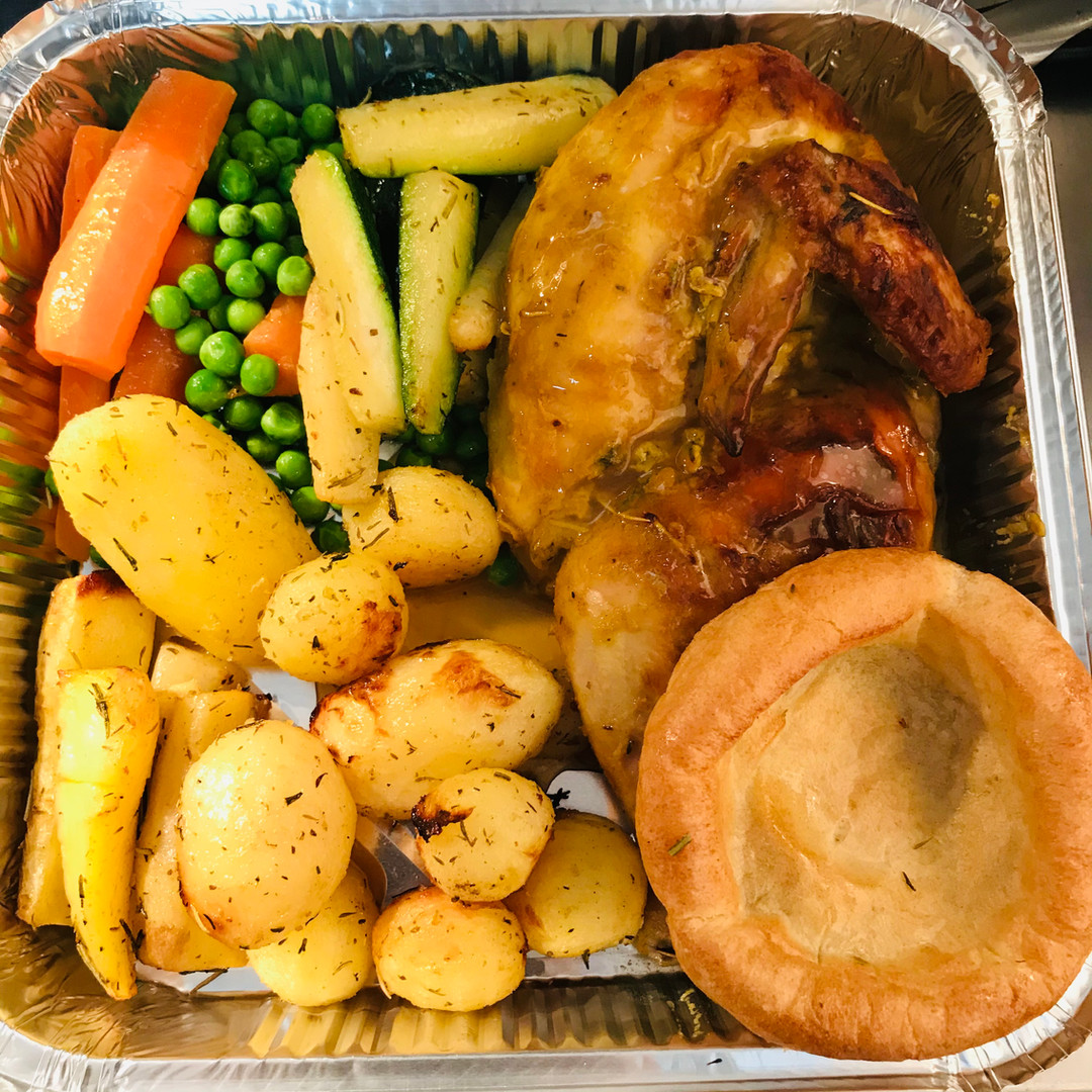 Roast dinner takeaway or delivery near F