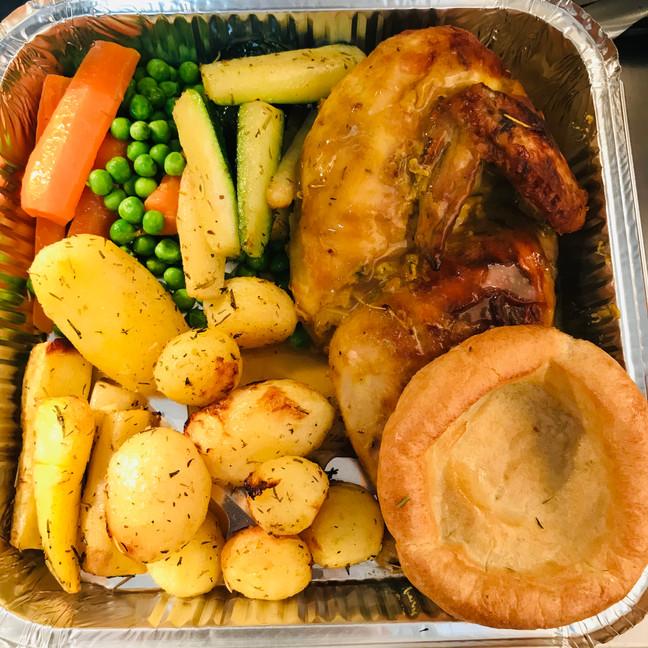 Roast dinner takeaway or delivery near F