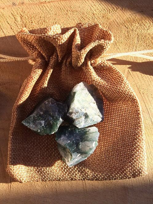 Achát machový, kamene na prípravu achátovej vody