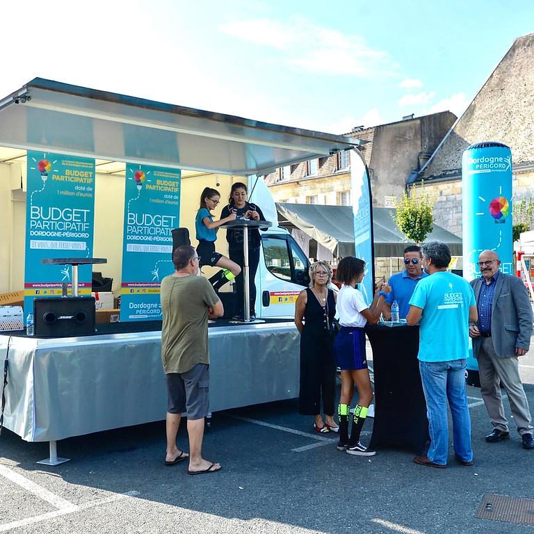 Tournée sans chauffeur - La caravane du budget participatif - Dordogne 2019