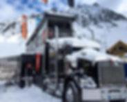 Camion podium dynastar ski