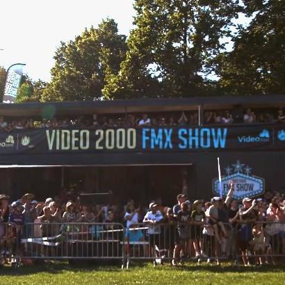 Fmx show - Festival des sports à Neuchâtel (Suisse) - 2019