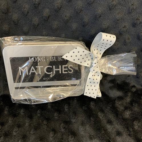 Long-Burn Matches Gift Tin