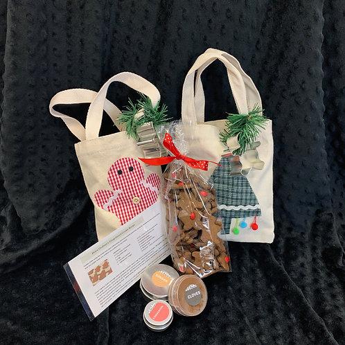 DIY Gingerbread Cookie Kit - includes gingerbread cookies!