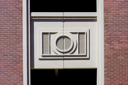 Alpharetta Medallion detail