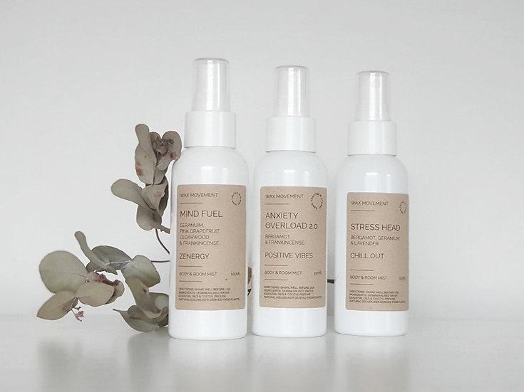 Aromatherapy Body & Room Spray 125ml