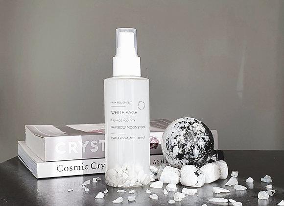 White Sage - Gemstone Infused Smudge Spray 125ml