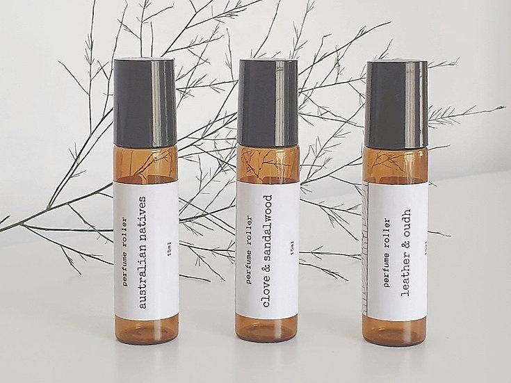 Fragrance Oil Roller 3pk