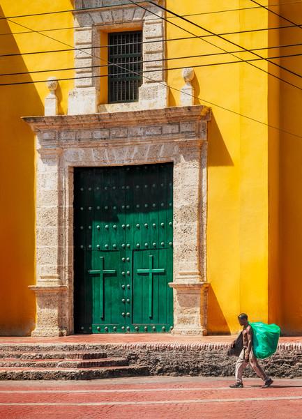 yellow-church-cartagena-colombia