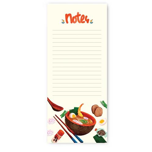 Ramen Theme Notepad
