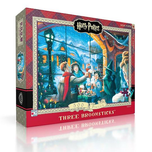 Harry Potter Puzzle: Three Broomsticks