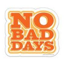 Sticker: No Bad Days